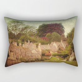 Arlington Row, Cotswolds Rectangular Pillow
