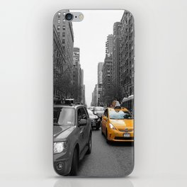 NY´s cab iPhone Skin