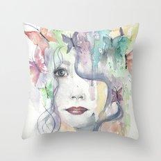 Floral Bohemian Throw Pillow