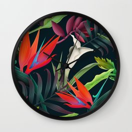 Tropicalist Wall Clock