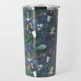 The Siren and the Sailor (La Sirène et le Marin) Travel Mug