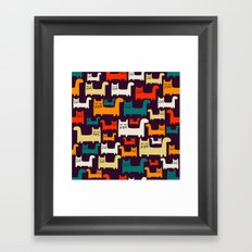 Herding Cats Framed Art Print