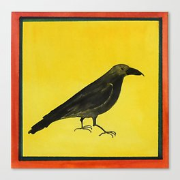Quoth the Raven Canvas Print