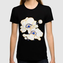 Ultramarine Blue :: Anemones T-shirt