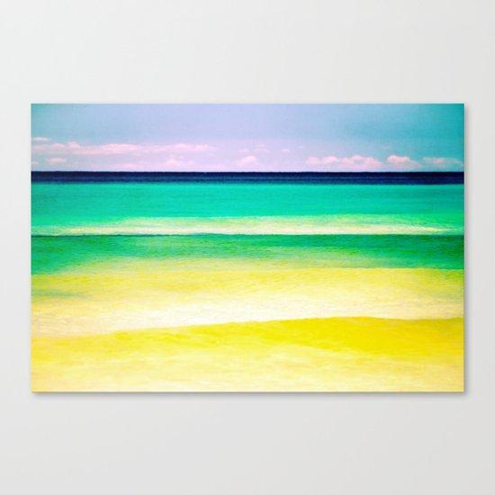 dreams of the sea Canvas Print