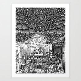 Los Nueve Art Print