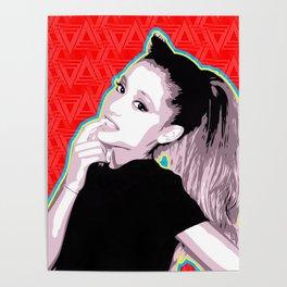 Ariana | Pop Art Poster