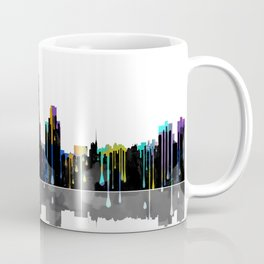 Fort Worth Skyline BW1 Coffee Mug