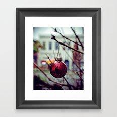 Street ornament Framed Art Print