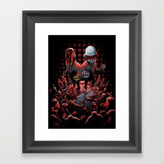 Saviors Framed Art Print