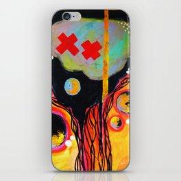 Brain Thoughts Underwater iPhone Skin