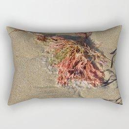 Barwon Heads   Bellarine Peninsula   Pink Seaweed Rectangular Pillow