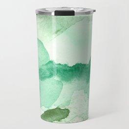 Meadow Pool Abstract Travel Mug