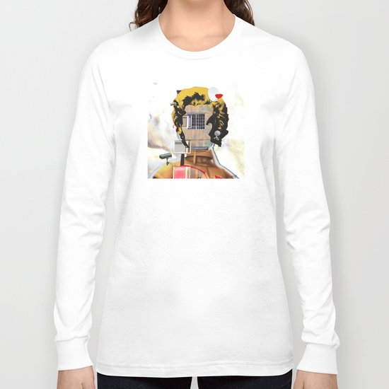 Rebuild Marilyn´s Head - THE ICON Long Sleeve T-shirt