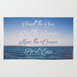 Hear the Ocean, Be at Ease Rug
