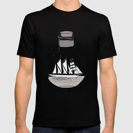 The Ship in the Bulb T-shirt