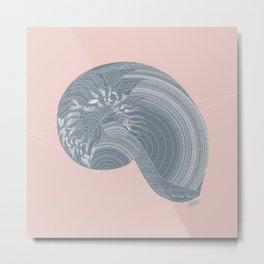 """Gastropoda"" Metal Print"
