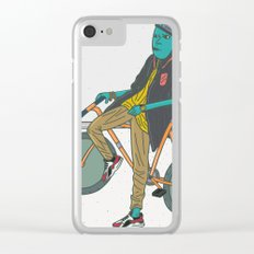 Lets Ride Clear iPhone Case