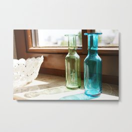 windowsill Metal Print