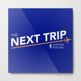 The Next Trip Podcast Metal Print