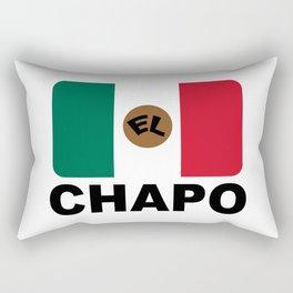 El Chapo Mexican flag Rectangular Pillow
