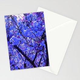 Dogwood Blue Tone Stationery Cards