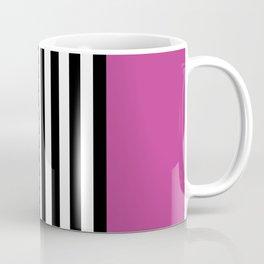 Liquorice allsorts, dark pink Coffee Mug