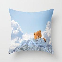 Sweet Dreams - Teddy Bear's Nap Throw Pillow