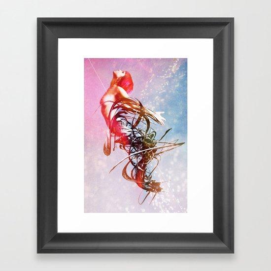 Giving Up The Ghost Framed Art Print