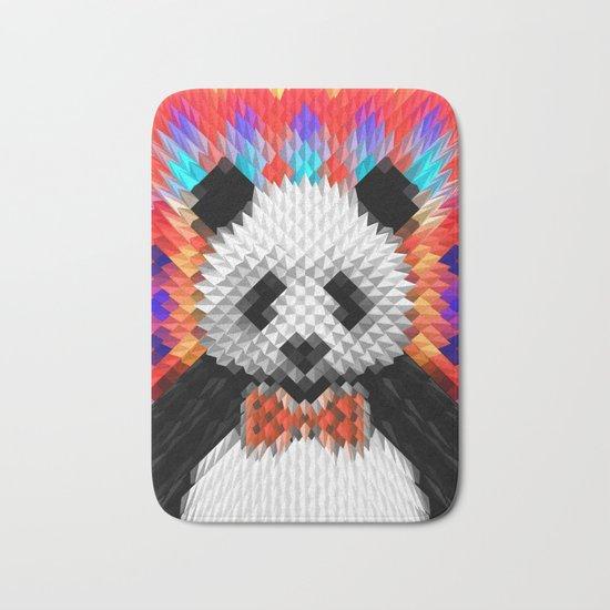 Geo Panda Bath Mat