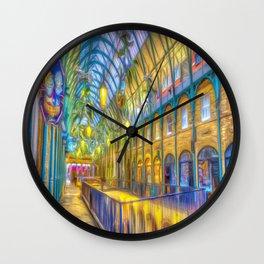 Covent Garden Art Wall Clock