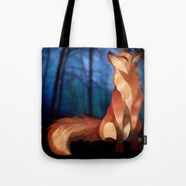 Wild At Heart Fox Tote Bag