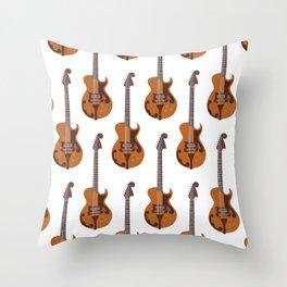 Merle Travis Bigsby Guitar Throw Pillow