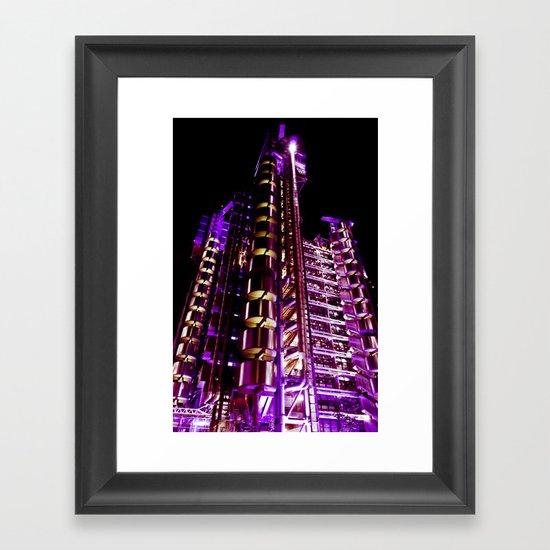Lloyd's of London Building  Framed Art Print