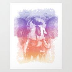 NELLIE Art Print