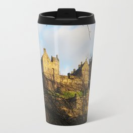 The castle on the hill Travel Mug