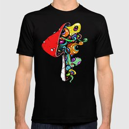 Inside A Mushroom T-shirt