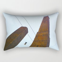 """Skyscraper"" in Bologna Rectangular Pillow"