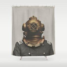 The Dutch Martian Shower Curtain