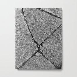 The Image Has Crack'd part 1 Metal Print