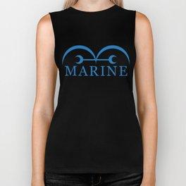 marine Biker Tank