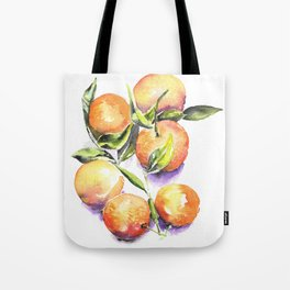 Sweet Clementines Tote Bag