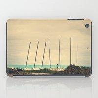 boats iPad Cases featuring Boats by Kiera Wilson