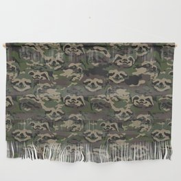 Sloth Camouflage Wall Hanging