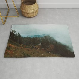 Park Butte Lookout - Washington State Rug