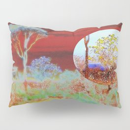The Planet of the Yellow Flowers 10 Pillow Sham
