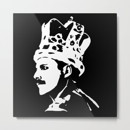 Freddy the White Queen Metal Print