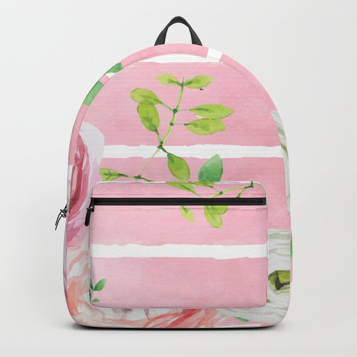 FLOWERS WATERCOLOR 4 Backpack