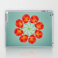 The Flower Vortex - Digital Work Laptop & iPad Skin