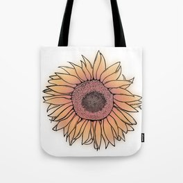 Mother Nature's Genius - Black Outline with colour Tote Bag